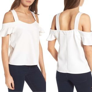 NWT Leith Cold Shoulder Top